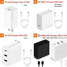 <b>Xiaomi</b> ZMI <b>Mi USB</b>-<b>C</b> Power Adapter GaN Charger 65W or 45W for ...