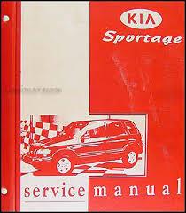 kia sportage wiring diagram service manual kia 2001 kia sportage repair shop manual original emissions supplement on kia sportage wiring diagram service manual