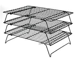 Coated Cooling Rack In Oven