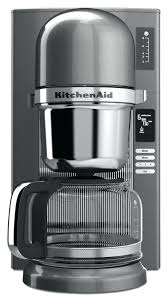 kitchenaid coffee maker s cleaning instruction manual pot replacement 12 cup espresso 14