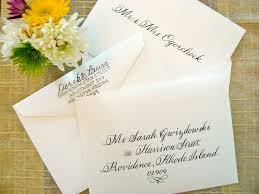 simply handwritten diy wedding invitations and envelope etiquette Wedding Invitation Address Inner Envelope the inner envelope pictured at the top has only the names of those invited, making the invitation crisp and clear wedding invitation address inner envelope