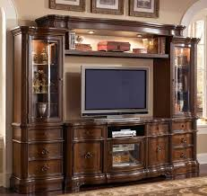 McFerran Home Furnishings E9100 Entertainment Center 5 Piece Set