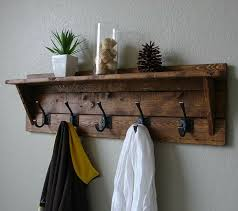 16 best repurposed coat rack projects images on wooden rustic clothes hooks