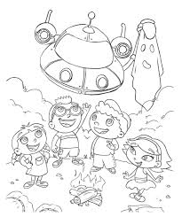 Small Picture Little Einsteins Coloring Pages Coloring Page