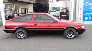 TOYOTA COROLLA TWIN CAM COUPE AE86 FOR SALE JAPAN - CAR ON TRACK ...