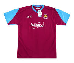 The official facebook page for west ham united. West Ham 2003 04 Home Kit