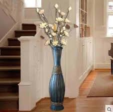 tall vase lighting garden. Fascinating Floor Vases Home Decor High Big Bamboo Wood Vase Large Retro Vintage Living . Tall Lighting Garden