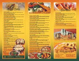Mexican Restaurant Menu Designs Leyme Carpentersdaughter Co