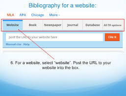 How To Write A Bibliography Ppt Download