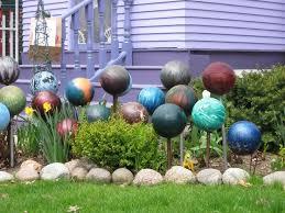 Bowling Ball Decorations Amazing Bowling Ball Garden Decorations Delectable Best 32 Bowling Ball
