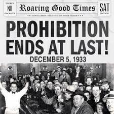 「1933 Eighteenth Amendment,」の画像検索結果
