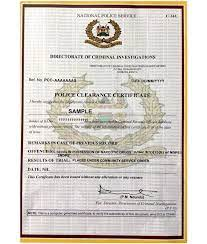 How To Appy For a Certificate of Good Conduct in Kenya : TechMoran