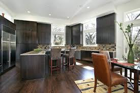 dark wood floor kitchen hardwood floors with dark kitchen cabinets idea dark hardwood floors with dark