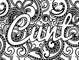 Coloring Pages Coloring Pages Fantastic Swear Word Book Where To