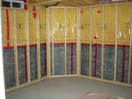Insulating A Basement Wall Best Basement Choice - Finish basement walls