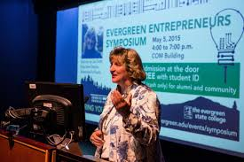 alumni and community members help make evergreen entrepreneurs lisa smith