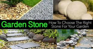 choosing garden stone