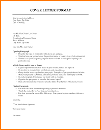 Formal Resume Example Of A Resume Cover Letter