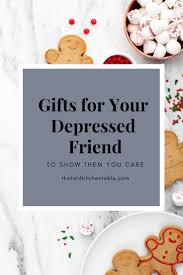 gift ideas for people with depression to help them feel loved this holiday season gifts