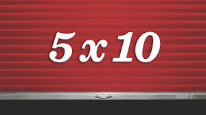 10x10 storage unit size guide you