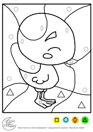 Coloriage Magique Enfant Maternelle 2480 3508
