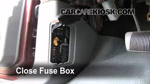interior fuse box location dodge durango dodge 5 test component secure the cover and test component