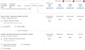 Anatomy Of An Award Booking Lufthansa First Class With