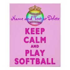 Softball Posters Photo Prints Zazzle