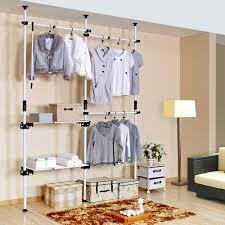 furniture creative diy pipe pvc wardrobe design with white color box storage and saving small