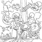 Раскраска сказка айболит