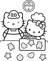 Fris Kleurplaten Hello Kitty Met Paard Klupaatswebsite