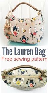 Free Tote Bag Patterns Stunning 48 Free Tote Bag Patterns Sewing Pinterest Tote Bag Patterns