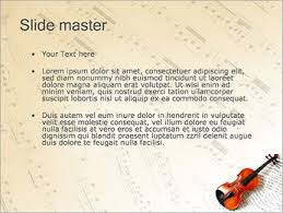 Music Powerpoint Template Violin And Music Powerpoint Template Infographics Slides