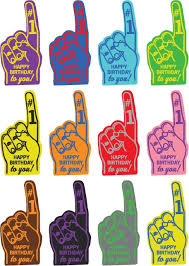 foam finger clipart. birthday party foam fingers -- printable cupcake toppers finger clipart h
