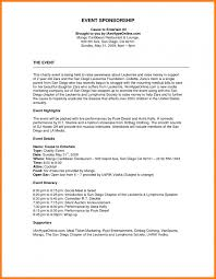 Proposal For Sponsorship Template Extraordinary Non Profit Business Plan Template Free Download New Image Result For