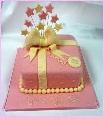 Ladies Present Pink Cream Birthday Cake Cake By Cakes By Lorna