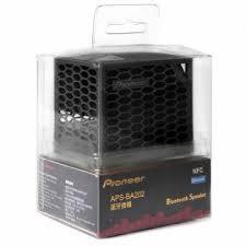 pioneer bluetooth speaker. pioneer aps-ba202 bluetooth speaker black k