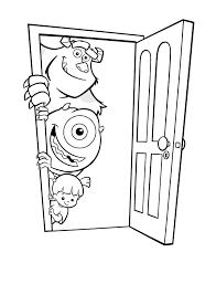 Monsters En Co Kleurplaat Disney Kleurplaat Animaatjesnl