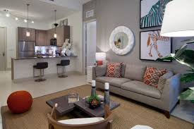 Contemporary Living Space at Aviva Coral Gables
