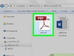 How To Reduce The Size Of A Pdf File 3 Ways To Reduce Pdf File Size Wikihow
