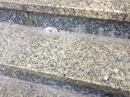 salt used to keep the stairs free of snow and ice was also corroding the mortar jean laroche cbc