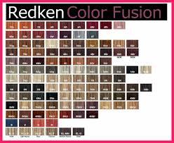 Fusion Chart Download Redken Color Fusion Chart Bio Letter Format