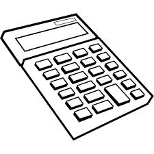 ビジネス 電卓モノクロ 無料イラストpowerpointテンプレート配布
