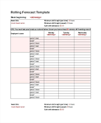 Forecast Template New Product Sales Forecast Template Financial