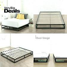 Low Profile Box Spring Mattress Firm Low Profile Bed Frame Low ...