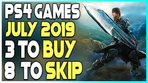 NEW PS4 GAMES JULY 2019 ...