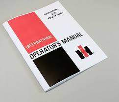 International 510 Grain Drill Seed Chart International 510 Grain Drill Planter Owners Operators Manual Settings Chart