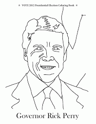 Small Picture Obama Coloring Page Perfect Caricature Of Barack Obama Coloring