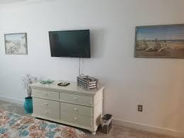 bedroom w 43 wall mounted tv