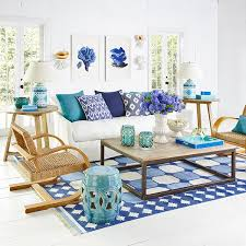 what to put on top of a large coffee table via wisteria